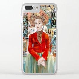 Tokio Clear iPhone Case