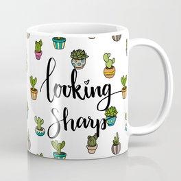 Looking Sharp Quote Coffee Mug