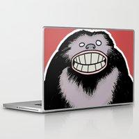 bigfoot Laptop & iPad Skins featuring Bigfoot by FireAwayMarmot