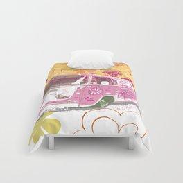 girl camper Comforters