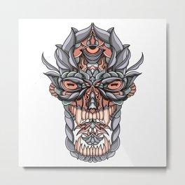 God Metal Print