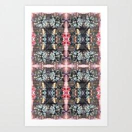 OR/WELL:  Windows & Mushrooms Art Print