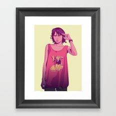 80/90s - Brn Framed Art Print