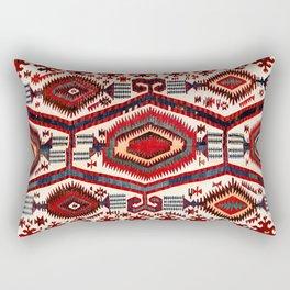Konya Antique Turkish Kilim Rectangular Pillow