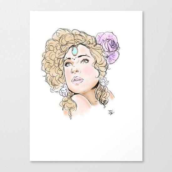 """""""Alex Kingston"""" Canvas Print"""