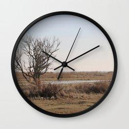 Wild Landscapes at the coast 1 Wall Clock