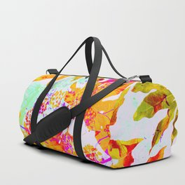 Tropical Adventure - Neon Orange, Pink and Mint Duffle Bag