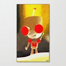 Impressions of Girr Canvas Print