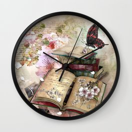 little pieces of me Wall Clock