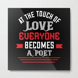 Be My Valentines Day Love - 03 Metal Print
