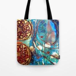 Midnight Moon Feline Tote Bag