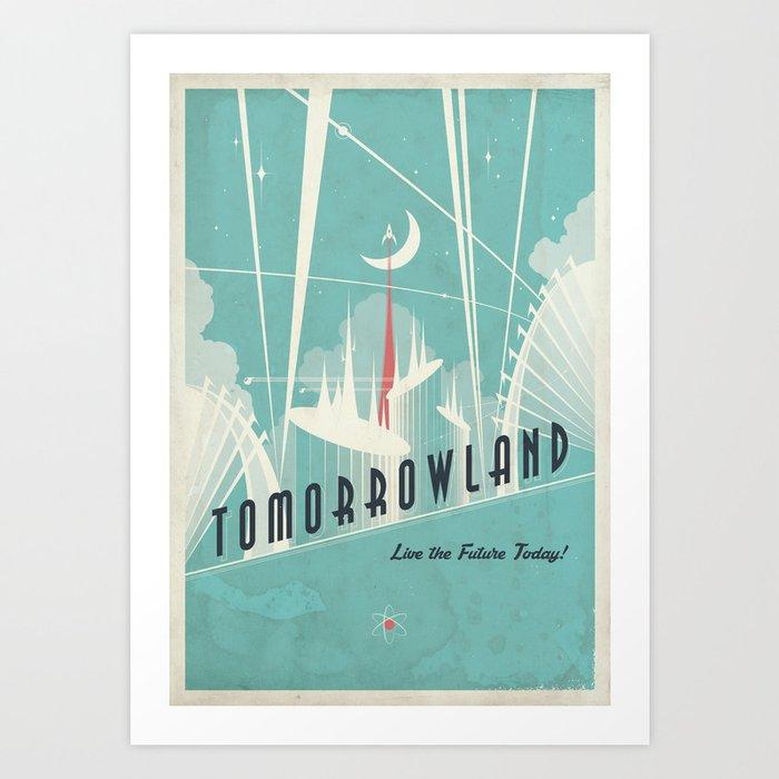 Tomorrowland Promotional Poster Art Print