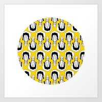 kill bill Art Prints featuring Kill Bill by orvangs