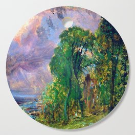 John Constable View of Hampstead Cutting Board