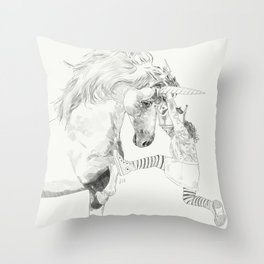 A Bigger World #2 Throw Pillow
