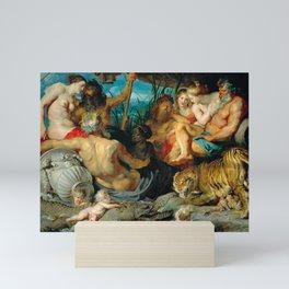 The Four Rivers of Paradise, Rubens, 1615 Mini Art Print