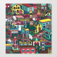good morning Canvas Prints featuring Good Morning! by Valeriya Volkova
