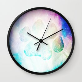 Space Print Wall Clock