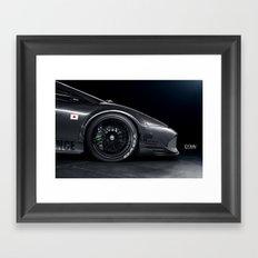 Widebody Lamborghini Murcielago Framed Art Print