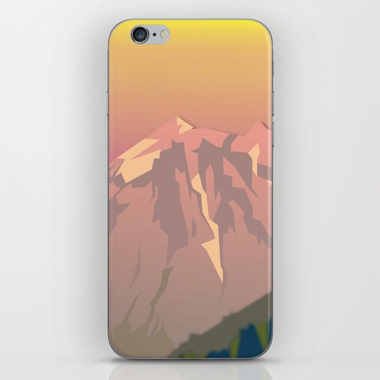 Night Mountains No. 47 iPhone Skin