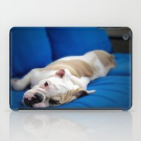 puppy iPad Cases featuring Puppy by brushnpaper