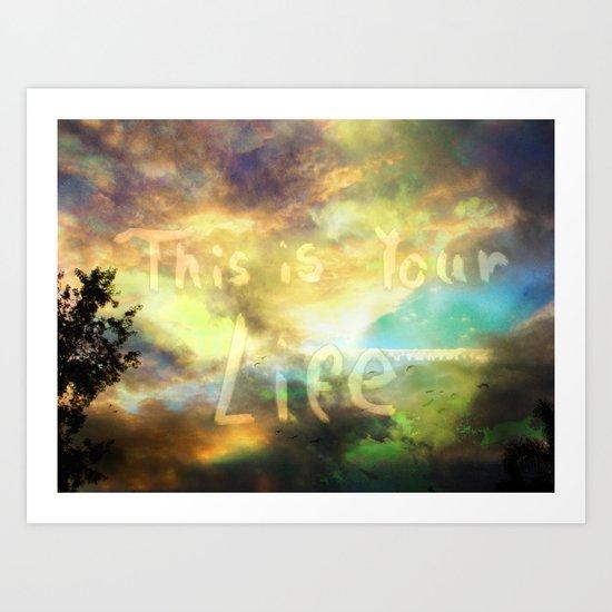 Enjoy It Art Print