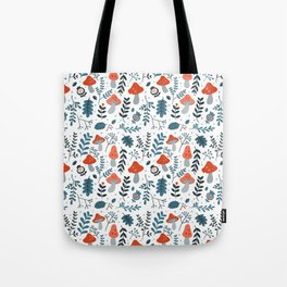Winter mushrooms Tote Bag