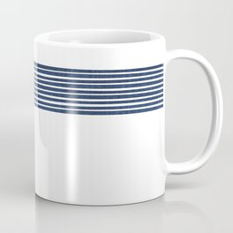 Band in Navy Coffee Mug
