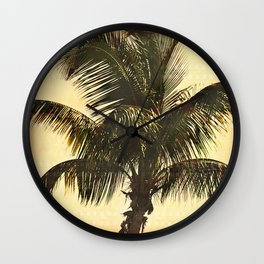 Palm On Film Wall Clock