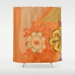 Dorsel Trance Flower  ID:16165-115815-42891 Shower Curtain