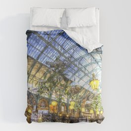 The Apple Market Covent Garden London Watercolour Comforters