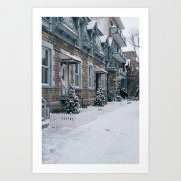 Snow x MTL Art Print