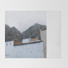 Chefchaouen Throw Blanket