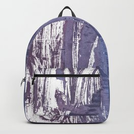 Rhythm abstract watercolor Backpack