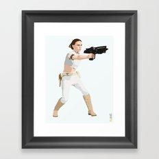 Padme of Star Wars Framed Art Print