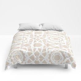 Palm Springs Macrame Lattice Lace Comforters