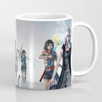 final fantasy Mugs featuring Final Fantasy by ssst