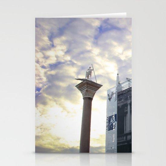 St Mark's Square, Venice Stationery Cards