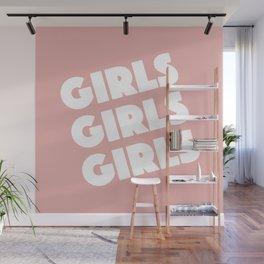 Girls Girls Girls Wall Mural