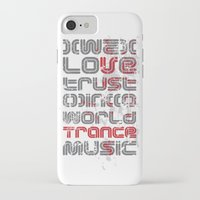 paramore iPhone & iPod Cases featuring Trust in Trance Music by Sitchko Igor