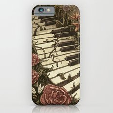 Piano and Flowers iPhone 6s Slim Case