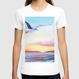 SEAGULL       by Kay Lipton T-shirt