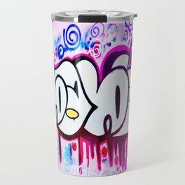 Kitty Kitty Graffiti West Philly Travel Mug