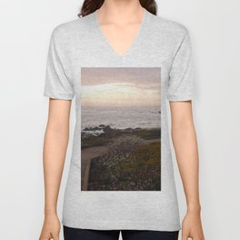 On the right path - Wildflowers bloom for those in love Unisex V-Neck