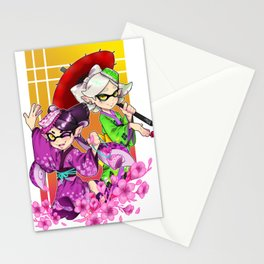 Squidsisters Stationery Cards