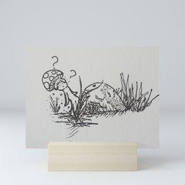 Shroom Curious Mini Art Print