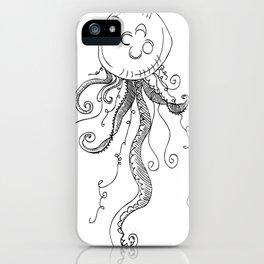 J..j..jelly fishhhh iPhone Case