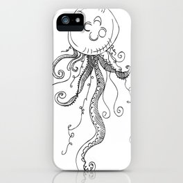 J..j..jelly fishhhh iPhone Case