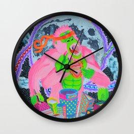 Celestial Scraper Wall Clock