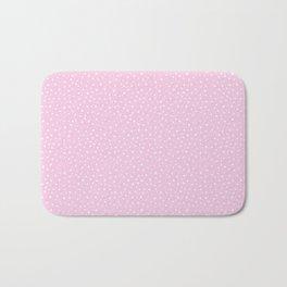 Pink Spots Bath Mat
